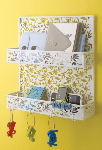 Design Ideas Vinea Spice Rack, White