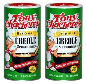Tony Chachere's Original Creole Seasoning, 17 oz (Pack of 2)
