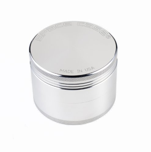 iolite SCGSM-M Aluminum Medium Magnetic Spacecase Grinder – 4 Piece