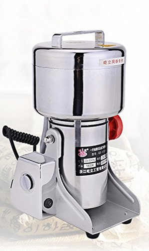 400g Stainless Steel High-speed Grinder Mill Family Medicial Mill Herb Grinder,pulverizer 110v