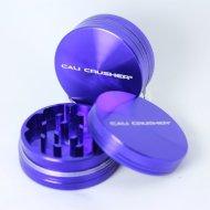 Cali Crusher® 2 Piece Hard Top Herb Grinder- Purple (CC-2-P)