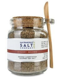 8 Oz Chef's Jar – Cherrywood Smoked Sea Salt
