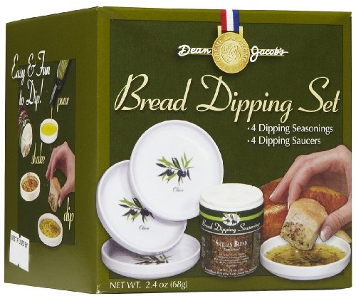 Dean Jacob's 5 Piece Melamine Bread Dipping Set – Regular