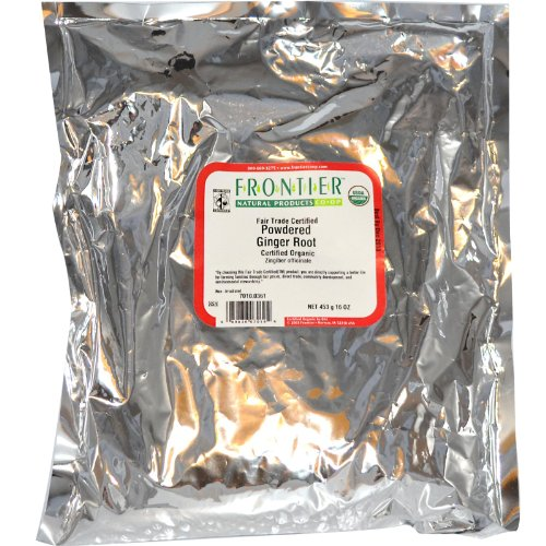 Frontier Natural Products – Ginger Root Powdered Organic – 1 lbs.