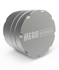 Herb Grinder. The Best Grinder for Herb, Tobacco, Pollen and Spices. 2.5 Inch 4-piece Aerospace Aluminum