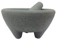 IMUSA AS31007 Aaron Sanchez Jumbo Granite Mortar and Pestle, 8-Inch, Red