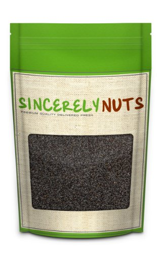Sincerely Nuts Whole Blue Poppy Seeds 5lb Bag