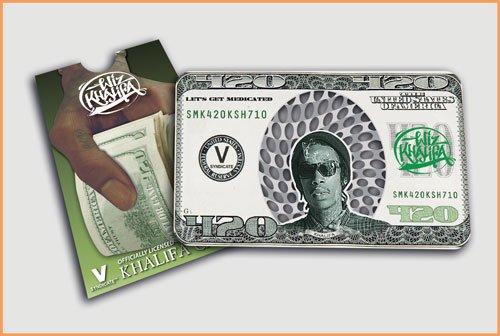 Wiz Khalifa- V Syndicate Grinder Card