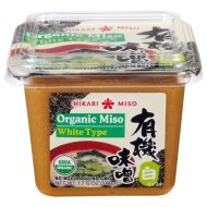 Hikari ORGANIC White Miso Paste – 1 tub, 17.6 oz
