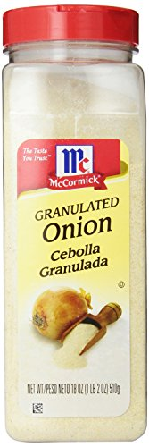 McCormick Granulated Onion, 18-Ounce