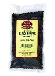 Black Peppercorns Whole 7oz