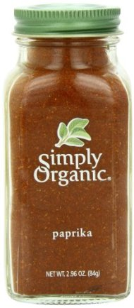 Simply Organic Paprika Ground Certified Organic, 2.96 Ounce Container