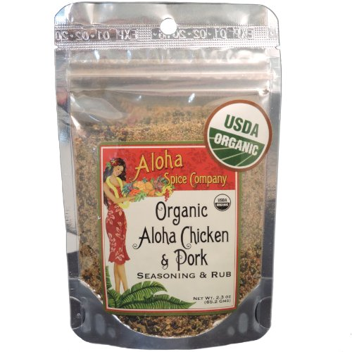 Organic Aloha Chicken & Pork Seasoning & Rub (4 Pack)