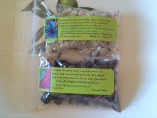 Resins: Frankincense and Myrrh gum ~ Wicca ~ 1/2 oz ea ~ Ravenz Roost resins