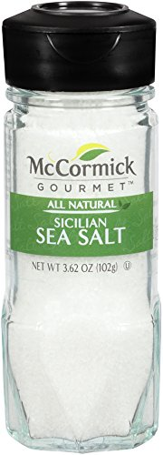 McCormick Gourmet Collection, Sicilian Sea Salt, 3.62-Ounce (Packaging  May Vary)