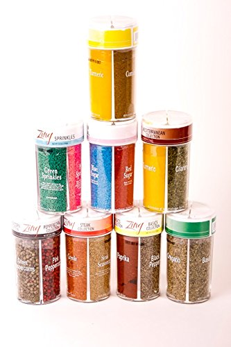 Zing Spices Ultimate Starter Spice Gift Set, Multi-spice Packs, Must Have for Every Kitchen, 32 varieties.