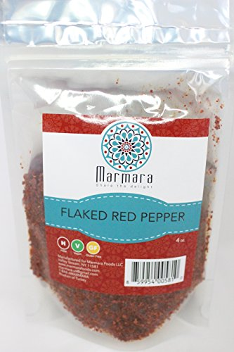 Marmara All Natural Premium Aleppo Flaked Red Pepper Spice 4 Oz (2 Packs)