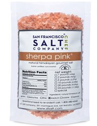 Sherpa Pink Gourmet Himalayan Salt, 5lbs Medium Grain. Incredible Taste. Rich in Nutrients and Minerals To Improve Your Health. Add To Your Cart Today.