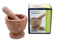 RSVP Classic Kitchen Basics Red Marble Mortar & Pestle