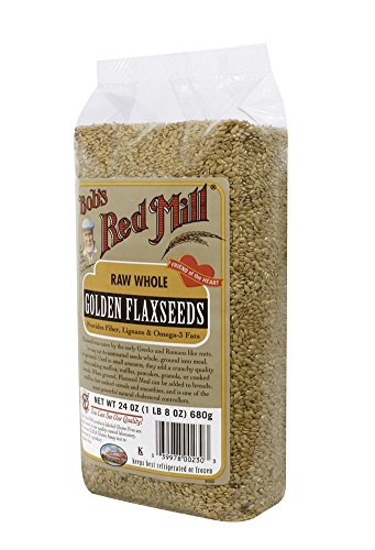 Bob's Red Mill Golden Flaxseed, 24-Ounce Bags (Pack of 4)