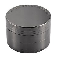 Golden Bell 4 Piece 2″ Spice Herb Grinder – Nickel Black