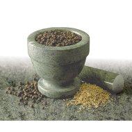 RSVP Green Marble Mortar & Pestle