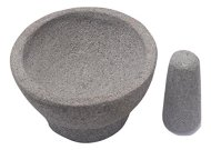 Guacamole Mortar and Pestle. Size SMALL. This Molcajete Is a Uniquely Handcraft, One-piece-cut Mexican Volcanic Rock Cooking Tool. You'll Get Better Texture & More Pleasant Flavor. Try Now!