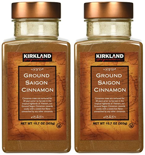 Kirkland Saigon Cinnamon 10.7 Oz Bottles( Pack of 2) – 21.4 Oz Total