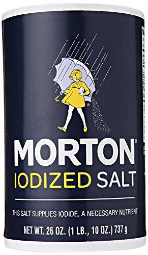 Morton Iodized Salt, 26 Ounce
