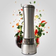 Victus Kitchenware Adjustable Manual Pepper Mill Salt Mill Stainless Steel Salt and Pepper Grinder Spice Grinder
