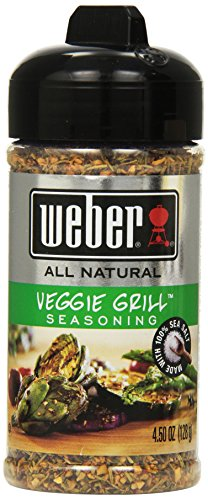 Weber Grill Seasoning Veggie Grill, 4.50-Ounce (Pack of 4)