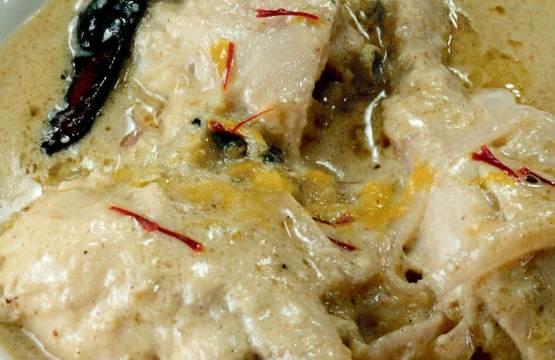 Recipe for Chicken rezala
