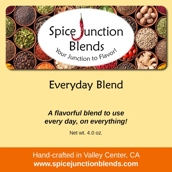 Everyday Blend | Spice Junction Blends, Valley Center, California