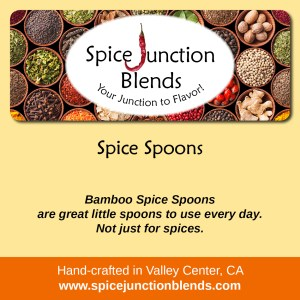 Spice Spoons | Spice Junction Blends, Valley Center, California