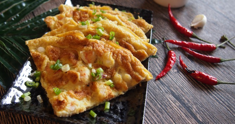MUST TRY RECIPE: Chinese Prawn Omelette 虾仁煎蛋