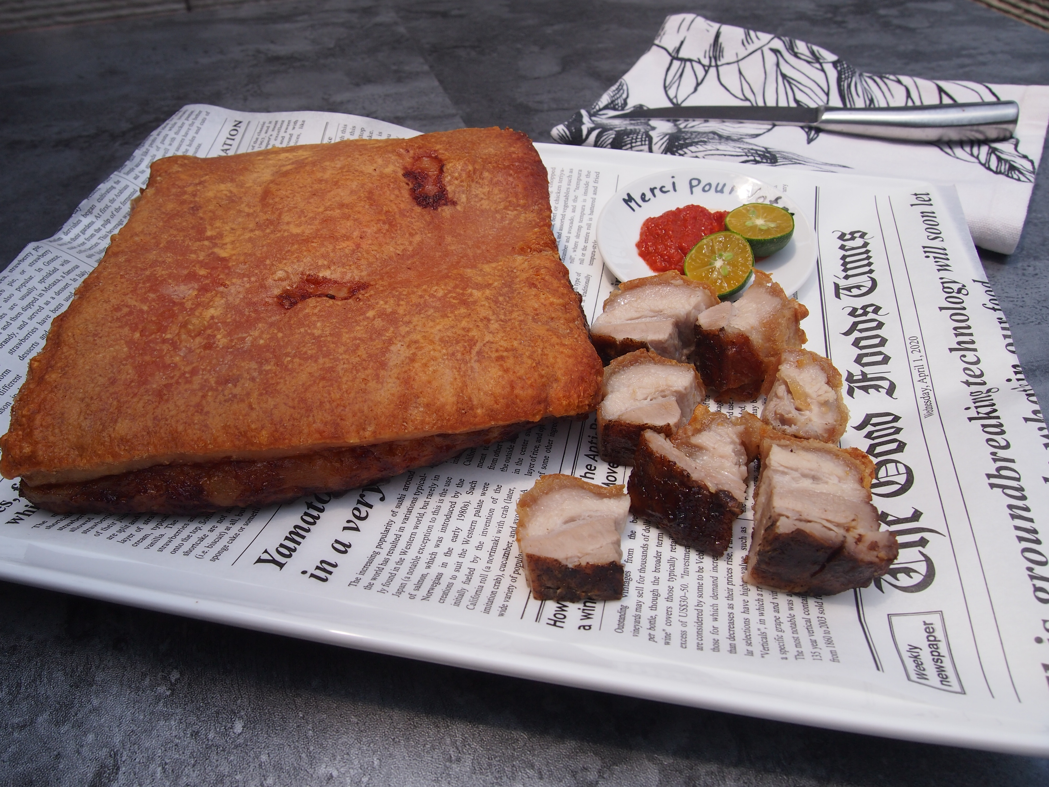 SECRET to Crunchy Chinese OVEN Roasted Pork Belly REVEALED