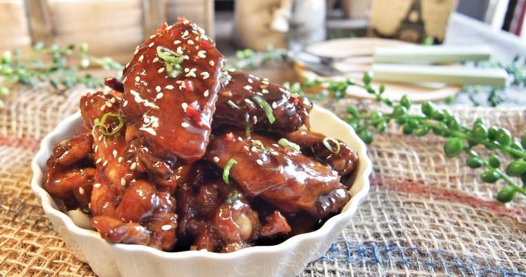 Super Easy Braised Chicken Recipe / Braised Cola Chicken Wings