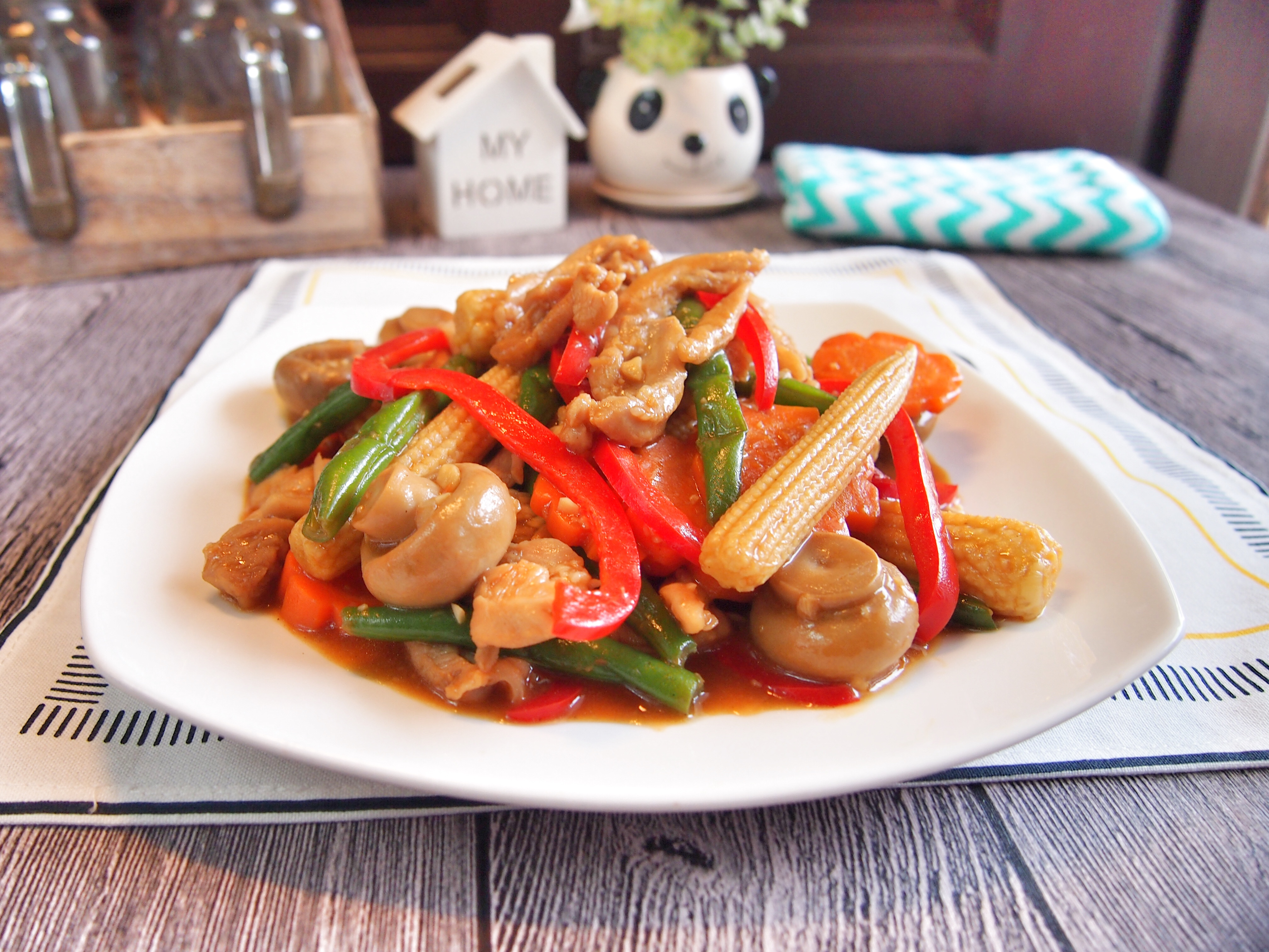 SUPER EASY CHINESE RECIPE: Stir Fried Chicken w/ Vegetables