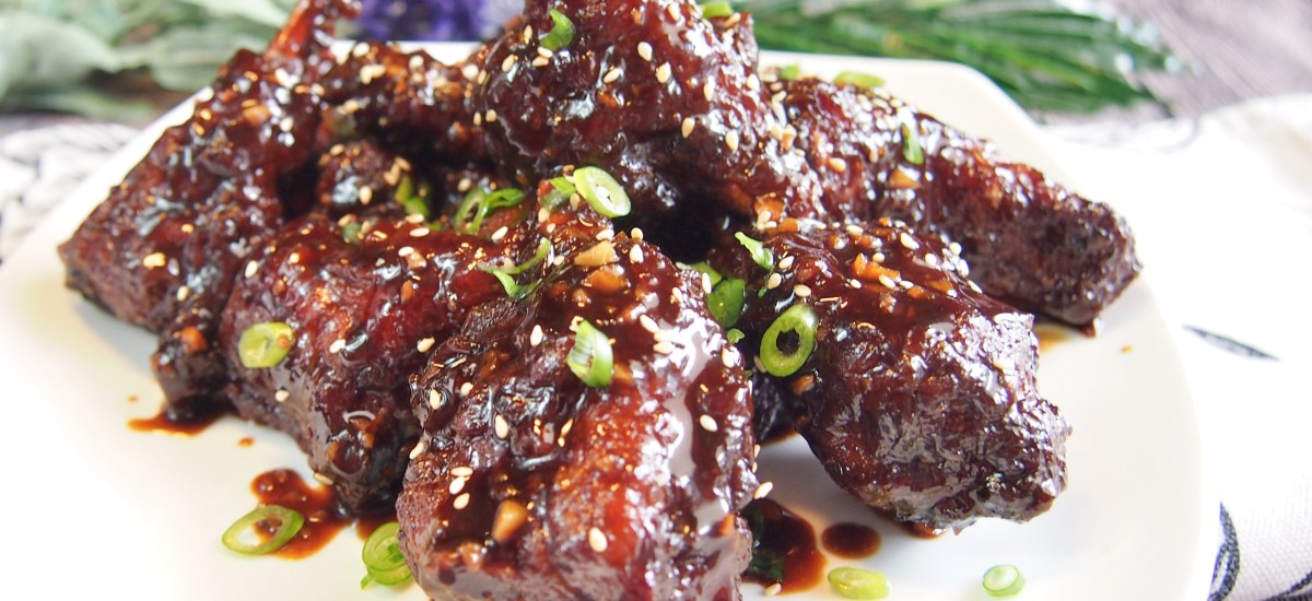 SUPER EASY Chinese Sticky Coffee Pork Ribs 咖啡排骨 Uniquely Singapore Recipe