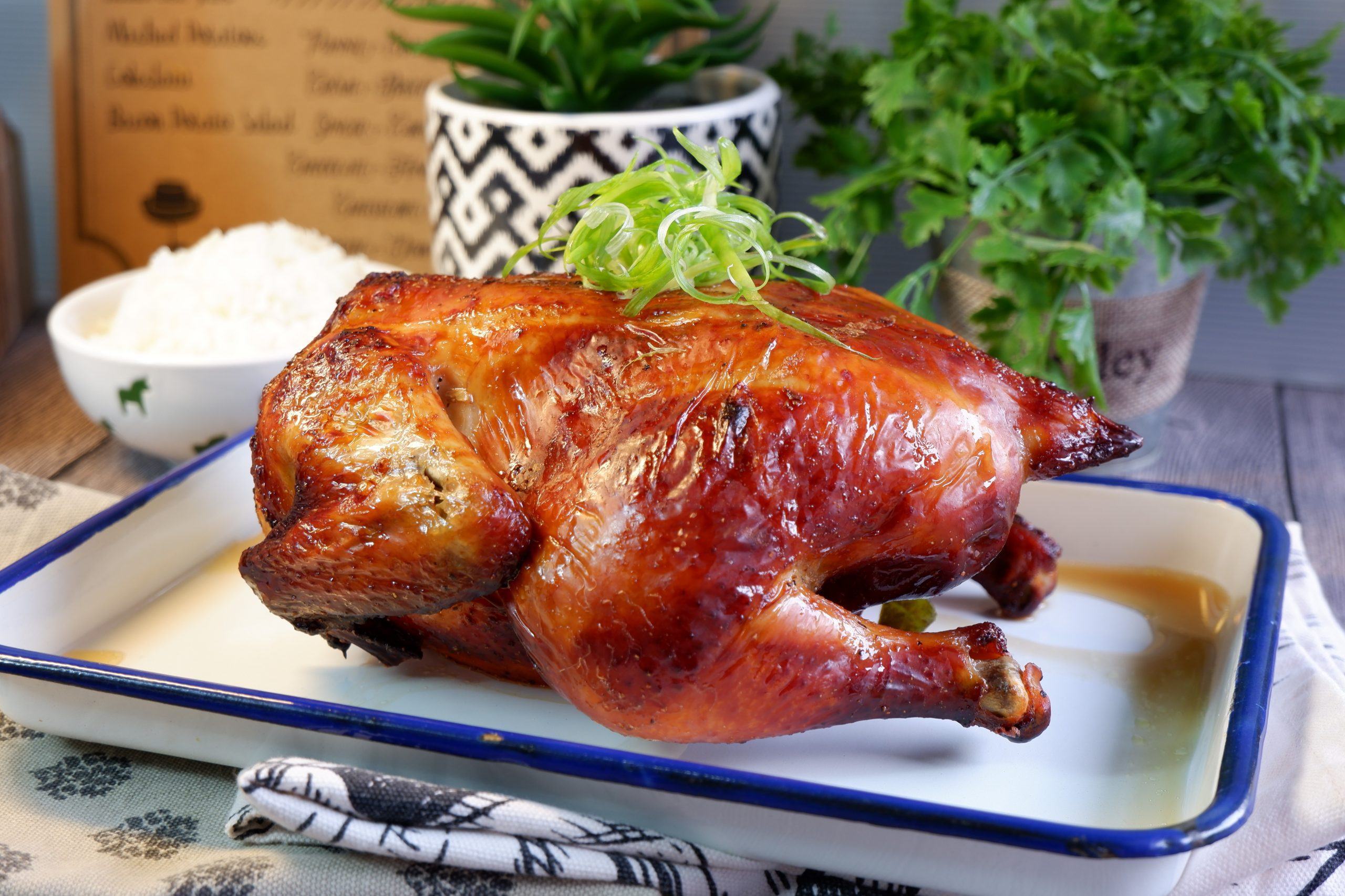 Asian Style Roast Chicken 亚洲烤鸡 Super Easy Oven (Air Fryer) Chicken Recipe