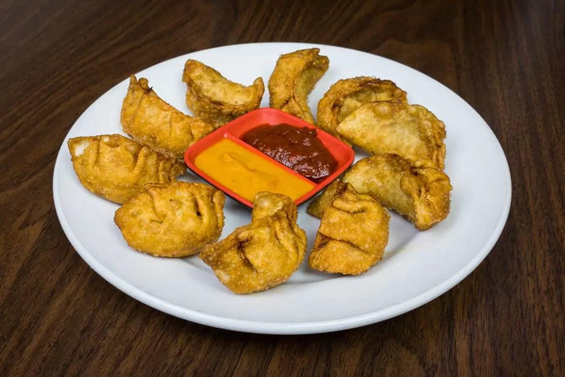 fried veg momo