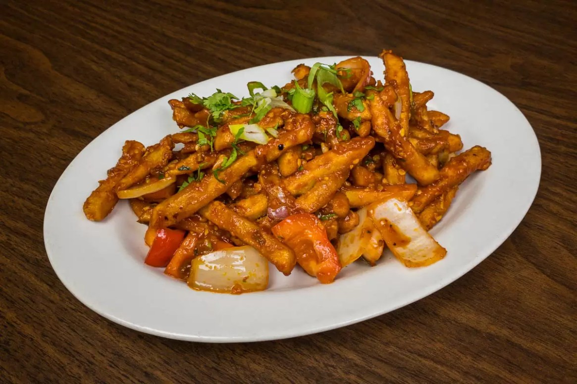 chilli masala fries