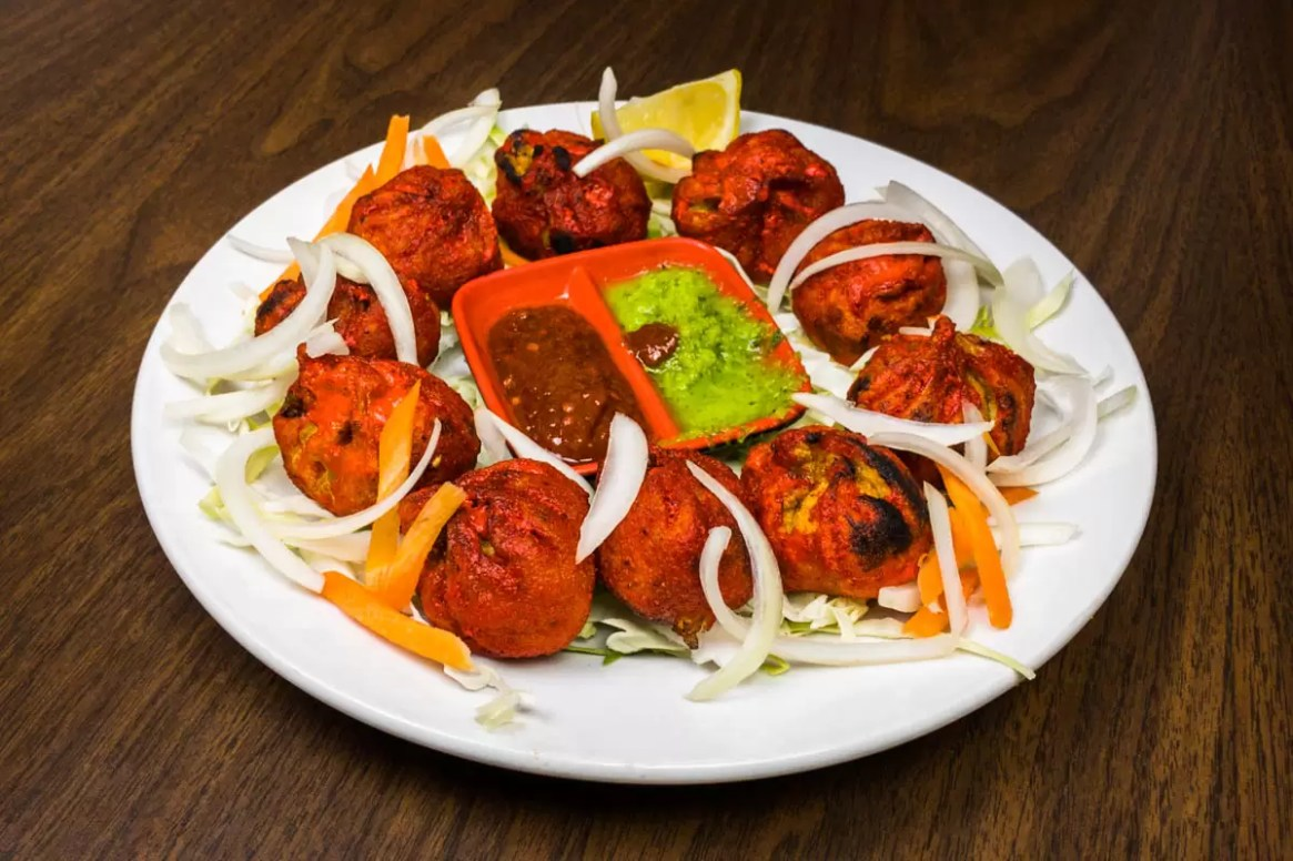 tandoori chicken momo