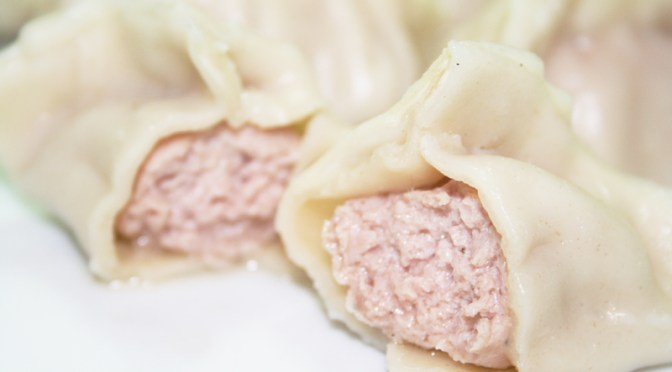 Jiao Zi (Boiled Pork Dumplings)