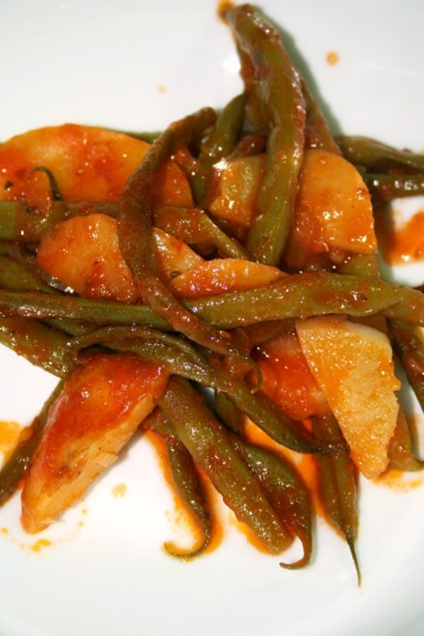 Greek-Style Oven Braised String Beans © Spice or Die