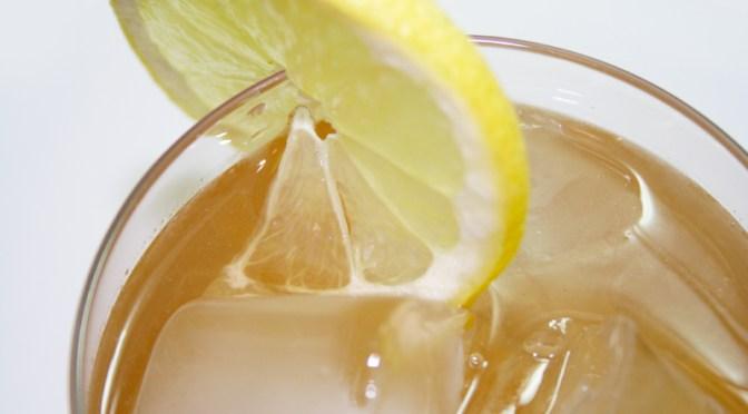 Sleepy Arnold Palmers (Lemonade and Valerian Iced Tea)