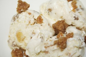 Apple Crumble Ice Cream © Photo by Angela Gunder