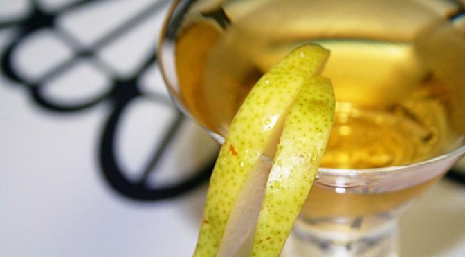 Sparkling Pear Martini