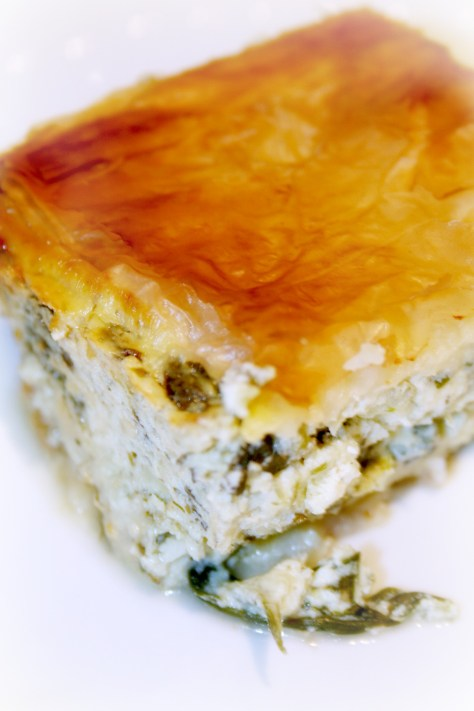 Spinach and Cheese Pie © Spice or Die