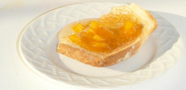 Peach Bellini Jam